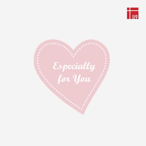 이스페셜리 포유 하트 스티커 핑크/100매